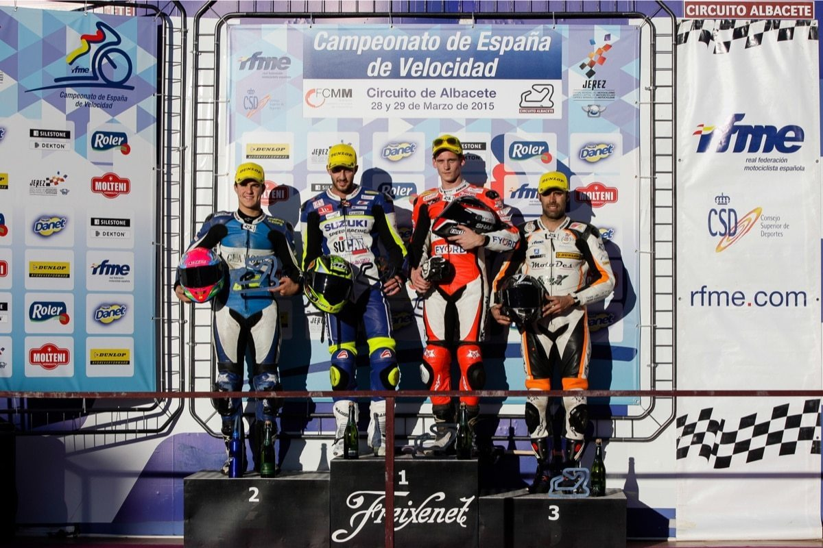Albacete Circuit : Two second places for antonio alarcos in albacetewillkommen am nova moto
