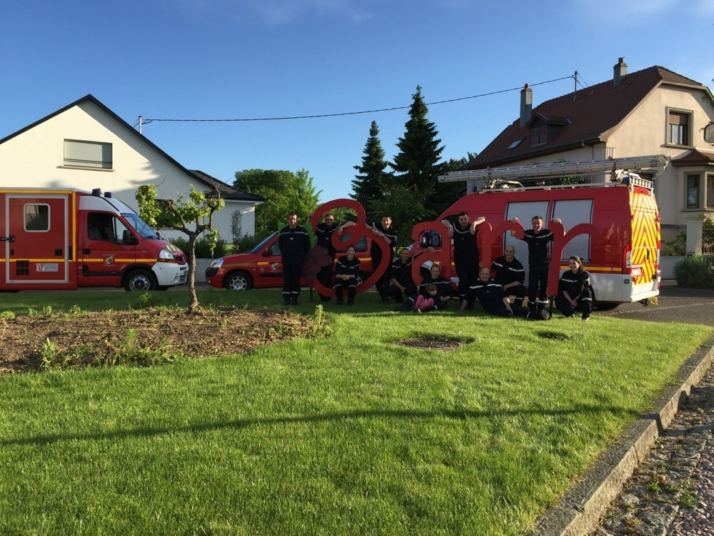 Nova Moto pompiers de barr stock