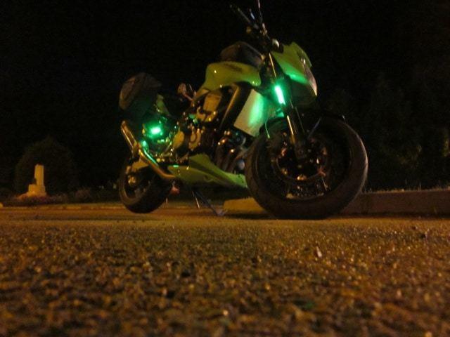 Z750 FF light