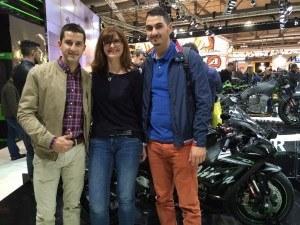 Antonio et Cédric Alarcos, Team Fast partenaire de Nova Moto