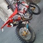 La complice : CRF450 Honda