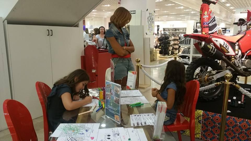 Atelier enfants et récolte de dons