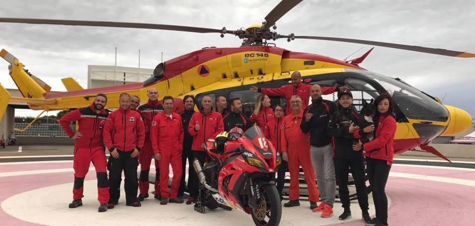 une-nova-moto-team-18-sapeurs-pompiers-équipe